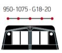 Technical Illustration for Capri North 1000 - front