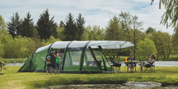 Family Camping Tents for special holiday times at Awnings Direct