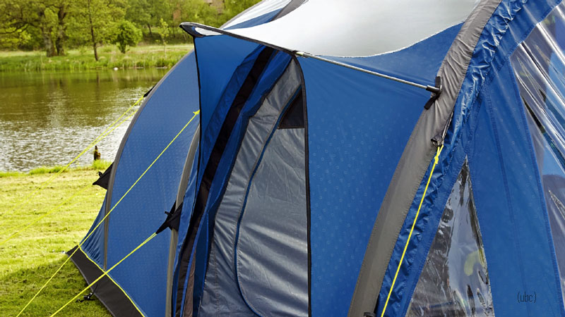 & Outwell Smart Air Tomcat MP 5 Berth Inflatable Tent Package
