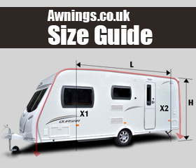 Awnings Size Guide