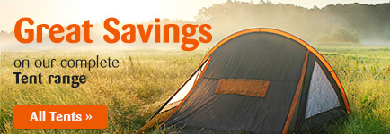 A wide range of tents and camping gear at Awnings Direct