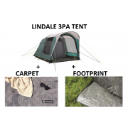 Outwell Lindale 3 Prime AIR Tent BUNDLE