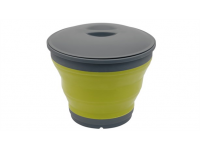 109236 Collaps Lime Green Bucket & Lid Outwell