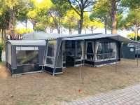 Isabella Forum Etna with optional annexe & canopy