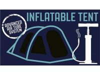 Outwell Vermont 7 Berth Inflatable Tent