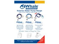 Whale water pump series socket types