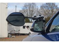 Milenco Aero3 Towing Mirrors - Standard (Convex) Glass real picture