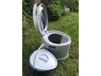 Kampa Khazi Transportable Toilet grass