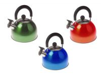 Kampa Brew 2L Whistling Kettle - all three colours