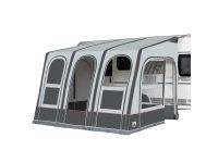 Futura 330 Air All Season inflatable awning, charcoal/grey