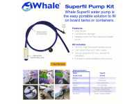 Whale Superfil Water Pump and Socket Features