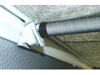 IXL fibreglass frame inserted into the FixOn screw-less profiles