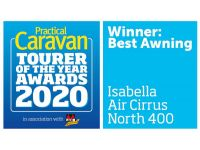 Isabella Air Cirrus North 400 is the winner of Best Awning Award 2020