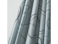 Bowline Grey curtains are supplied with Ventura Cumulus as standard