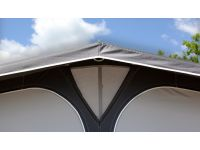 Top integrated ventilation in Ventura Pacific D300 Full Caravan Awning