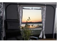 Isabella Ambassador Dawn Full Caravan Awning Views from the insides