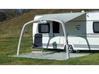 Optional Sun Canopy for your Trinus W400 can also be attached straight onto a caravan