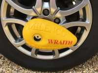Wraith wheel lock by Milenco