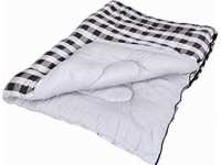 Grey Check Sleeping Bag