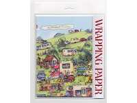 The Caravan Site wrapping Paper