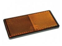 Amber self adhesive reflector