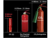 Fire Extinguisher Size Chart