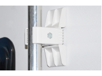 Mounting Options - Can be permanently mounted on any flat surface with fixing screws or self-adhesive pads provided.