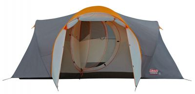 Coleman Cortes 6 berth open plan tent - Cortes 6 Plus