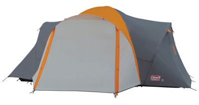 Coleman Cortes 6 Plus tent - closed view