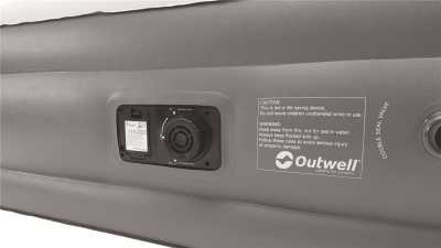 Outwell Superior Single Airbed with Pump