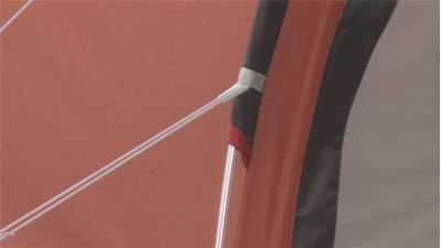 Robens Arrow Head Tent's aluminium frame