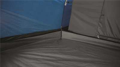 The Bathtub Groundsheet in Outwell Earth 2 Poled Tent