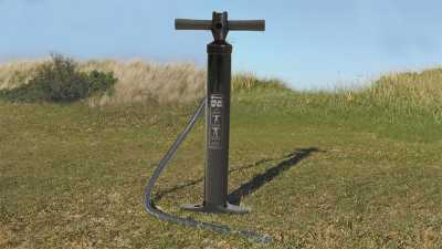 The Air Pump included with Outwell Hartsdale 4 Prime AIR Tent