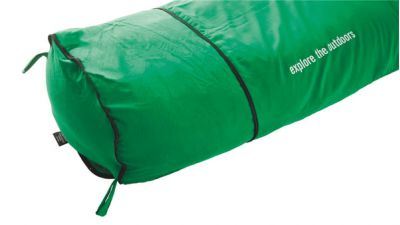 Extra room at the end of the sleeping bag with lots of insulation