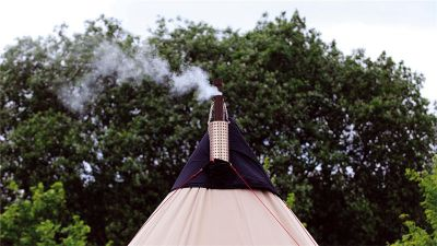 Robens Tent Stove, for tents with a stovepipe port
