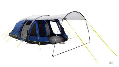Outwell Smart Air Tomcat MP 5 Berth Inflatable Tent with font canopy shade