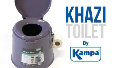 Kampa Khazi Transportable Toilet kampa