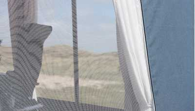 Mosquito net in Isabella Capri North Full Awning