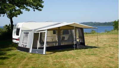 Isabella Eclipse Sun Canopy with optional side installed