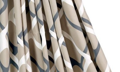 Collage sand curtains come with Isabella Universal as standard