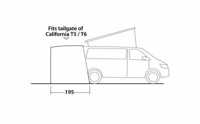 Technical Illustration of Easy Camp Motor Tour Crowford Awning