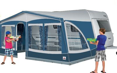 Multi Nova caravan awning catalogue picture