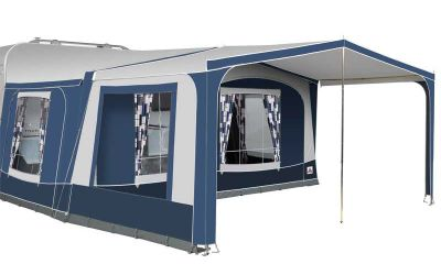 Palma Awning Canopy with an optional side panel