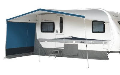 Dorema Canopy Vario with side panels zipped out