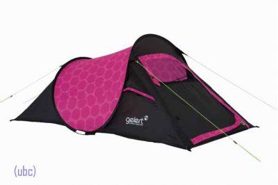 Gelert Quickpitch Compact 2 Pop-up Tent (Pink Floral)