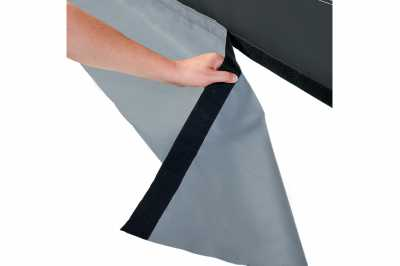 Removable mudflap in Dorema Emerald 270 Full Awning