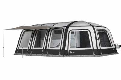 Dorema Magnum Air Force All Season 390 with optional Additional Extensions and sun canopy