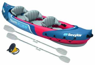 Sevylor Tahiti Plus Inflatable Kayak Kit (2 paddles & pump)