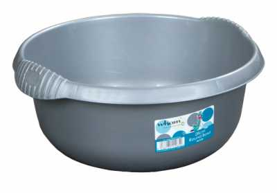 Quest Round Bowl - Silver