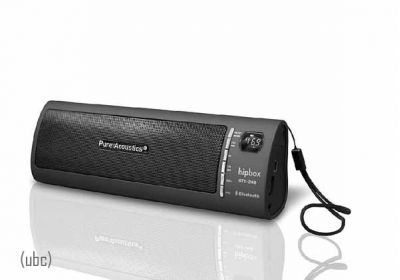 Hipbox Pure Acoustics GTX-24B Portable Music Box